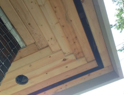 Carriage House Wood Soffits